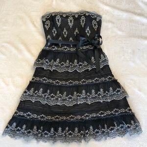 BcbgMaxAzria strapless cocktail dress